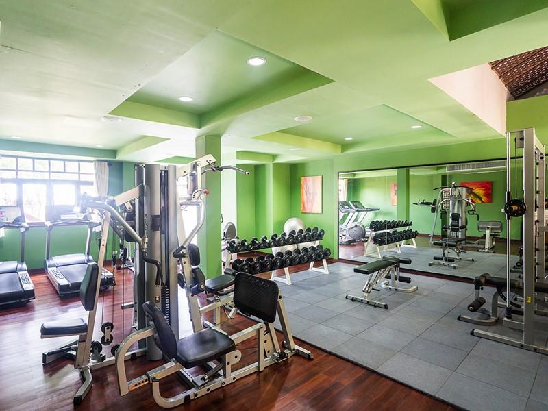 La gym du Khaolak Laguna Resort en Thailande