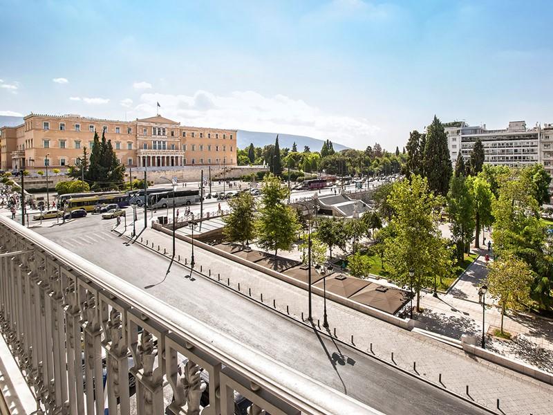 Vue sur la place Syntagma