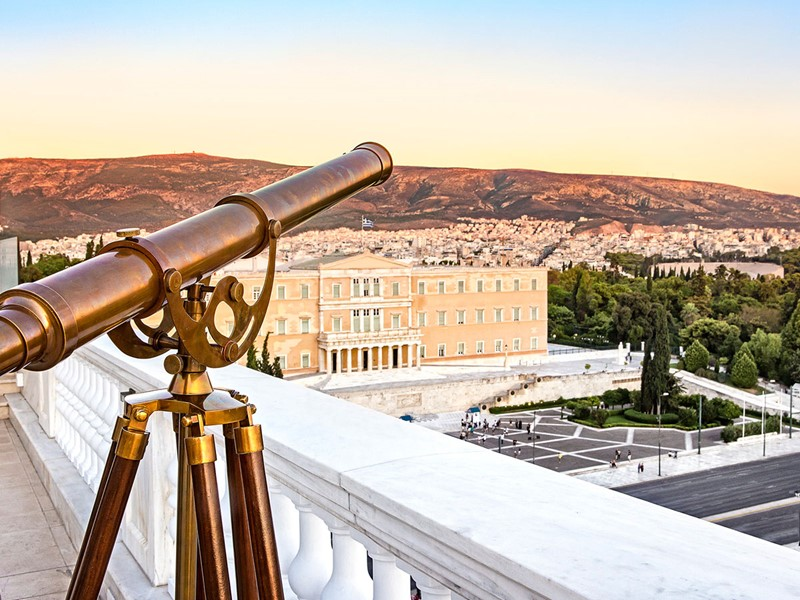 Profitez d'une splendide vue sur la capitale grecque