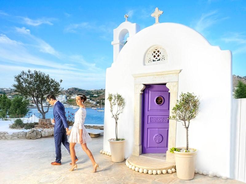La Chapelle privée du Kivotos à Mykonos