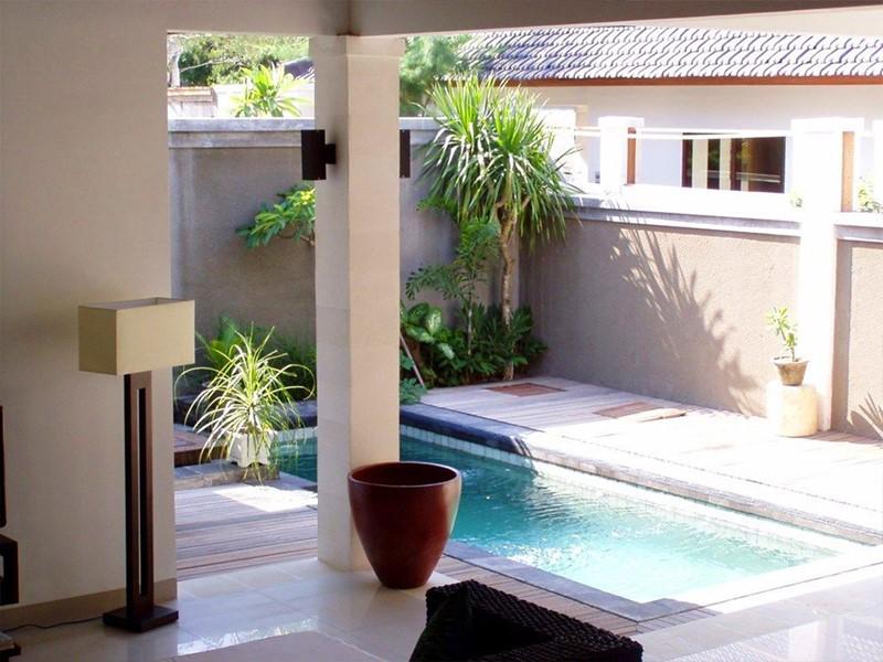 La piscine privée de la Villa Asoka