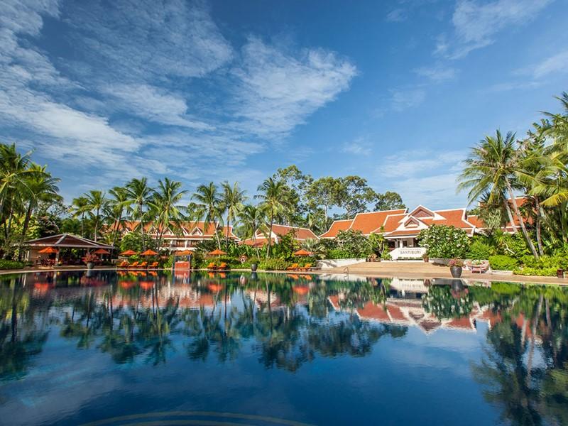 La piscine du Santiburi Beach Resort & Spa