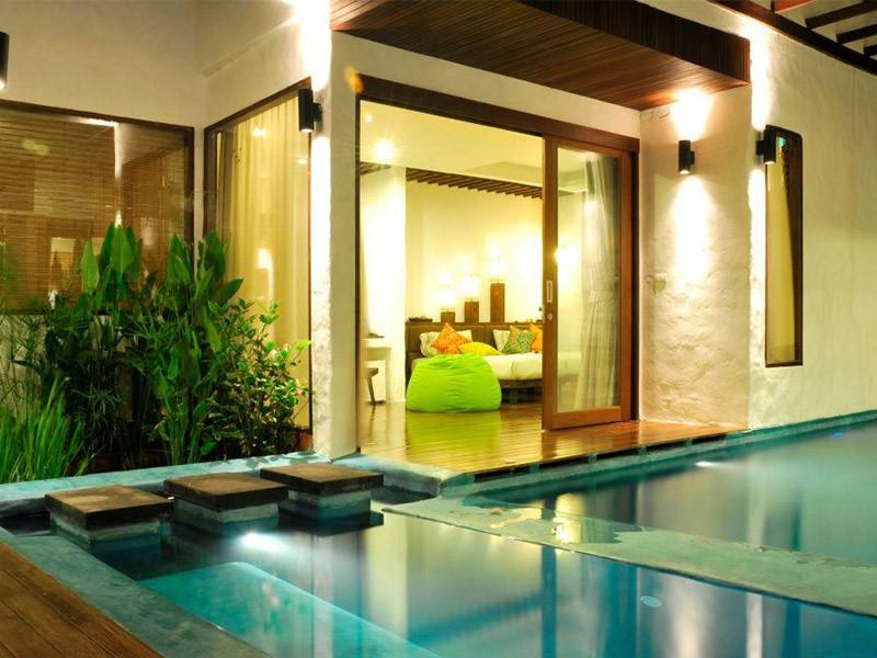 Jig Lae Beach Suite Villa du Koh Tao Cabana