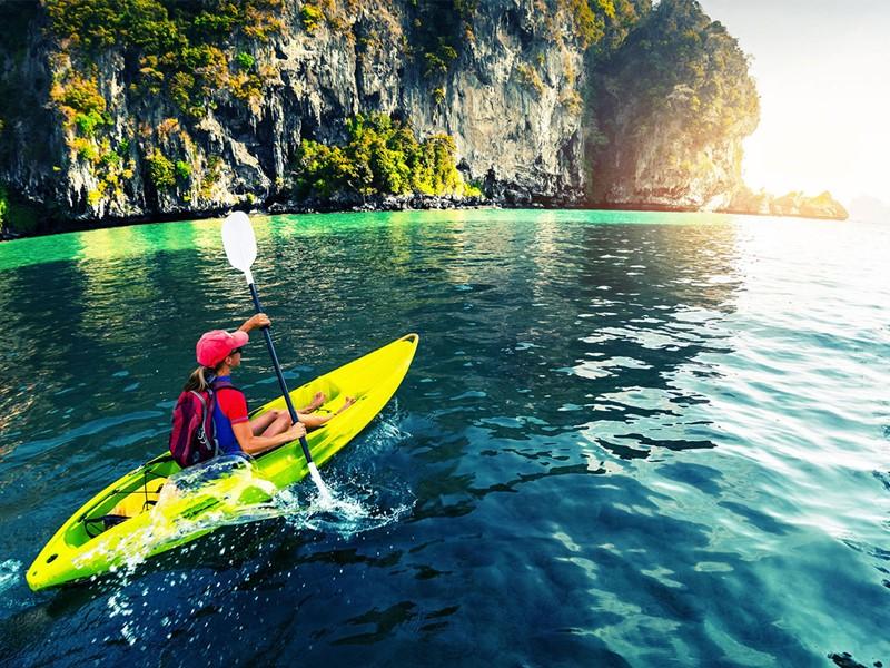 Adonnez-vous au kayak le temps d'une excursion