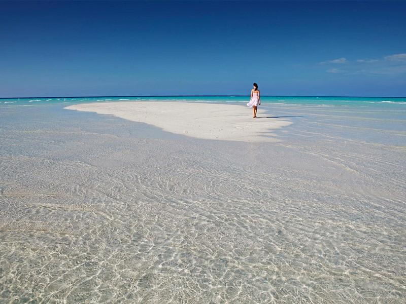 Baladez-vous sur les bancs de sable fin