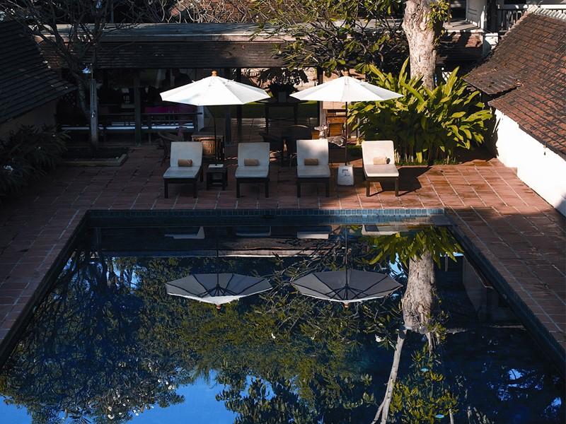 Hôtel Tamarind Village, piscine