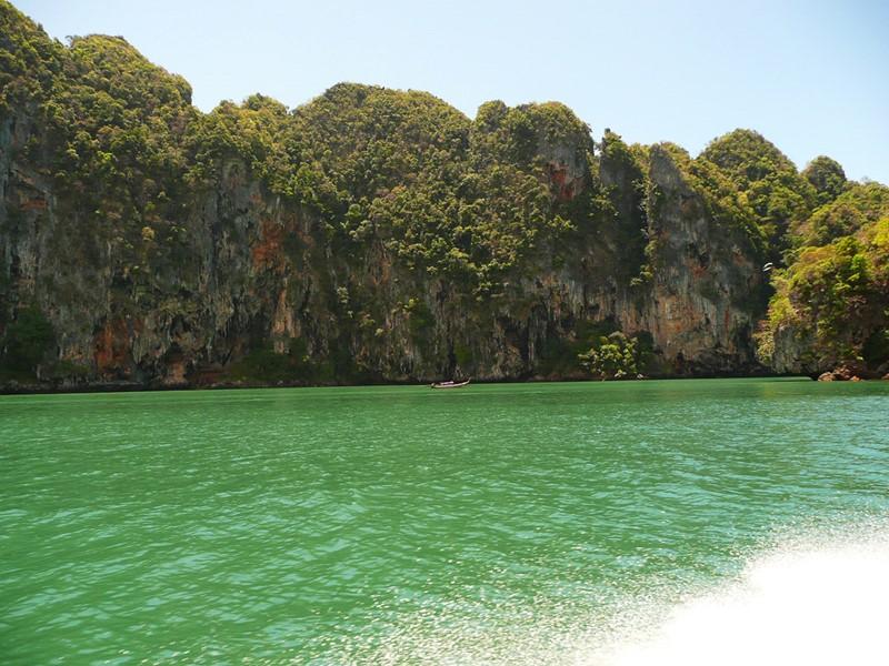 Krabi, paysage sauvage