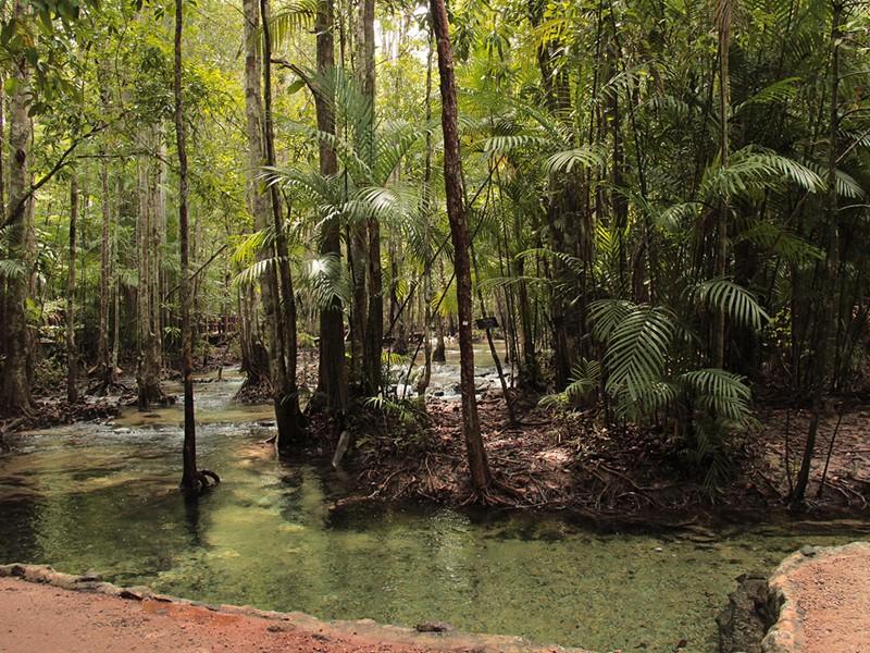 Krabi, à l'intérieur des terres