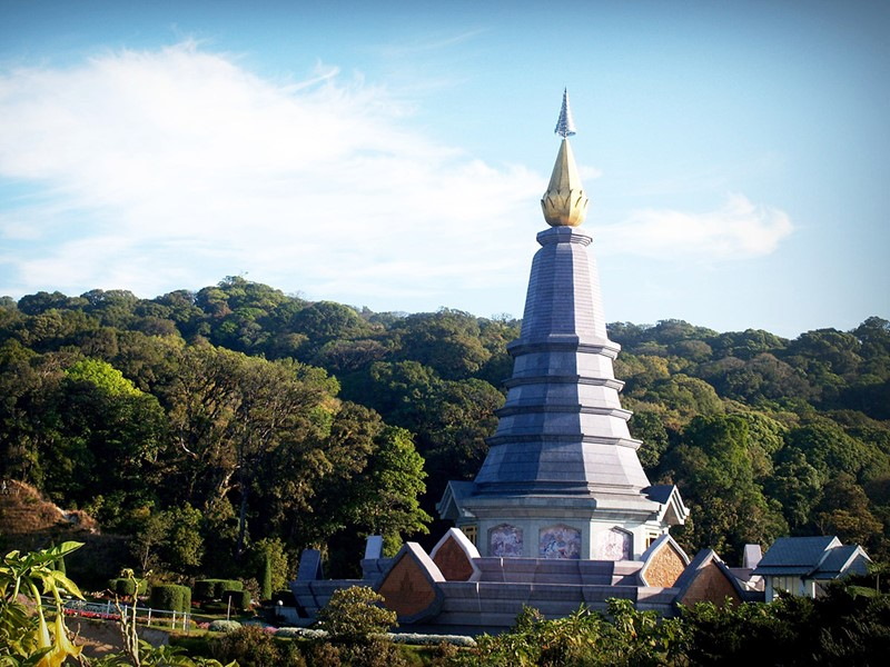Chiang Mai, Doi Inthanon National Parc