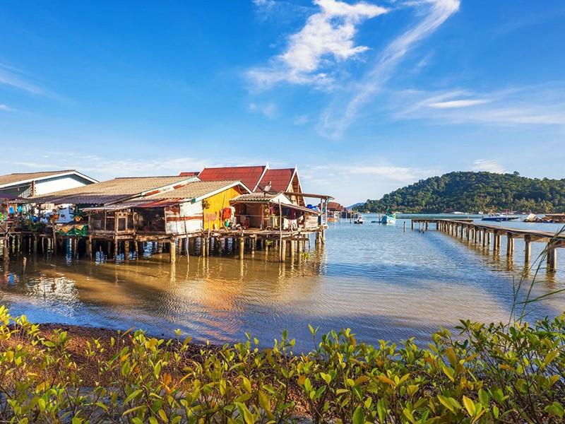Le village flottant de Kompong Khleang