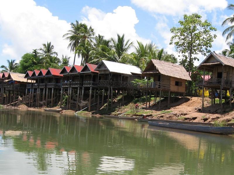 Explorez l'île de Done Khong dans la province de Champassak