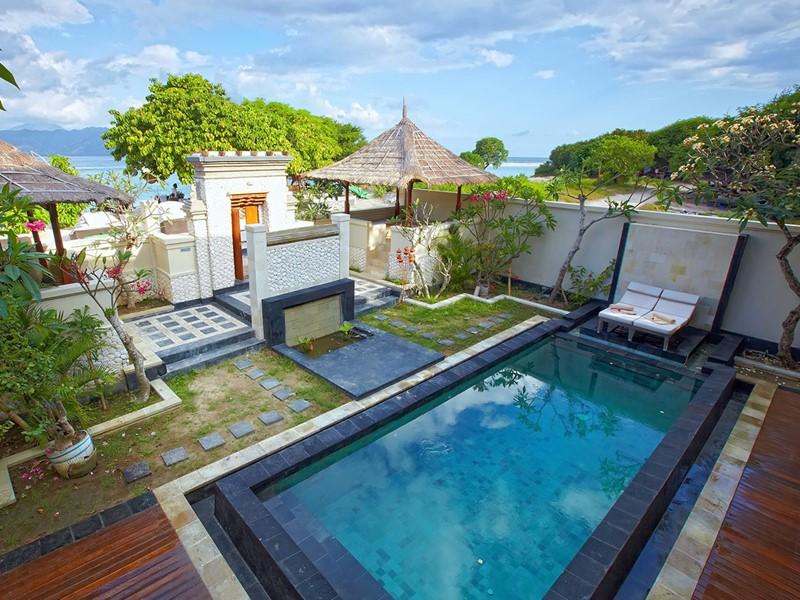 Le Ko Ko Mo Resort Gili Trawangan est l'hébergement le plus réputé et l'un des plus haut de gamme de cette île