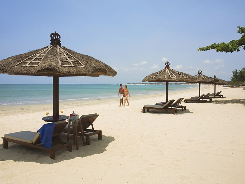 Jimbaran est un charmant village de pêcheurs doté d'une très belle plage qui s'étire en un long croissant de lune