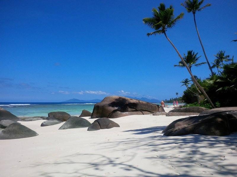 La plage de La Belle Tortue Lodge & Restaurant