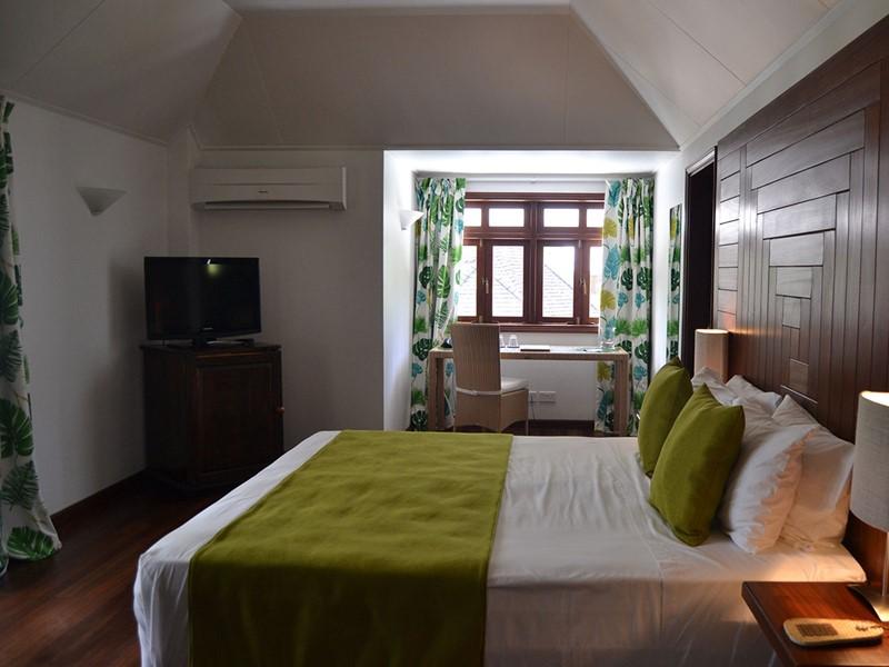 Lodge Room de La Belle Tortue aux Seychelles