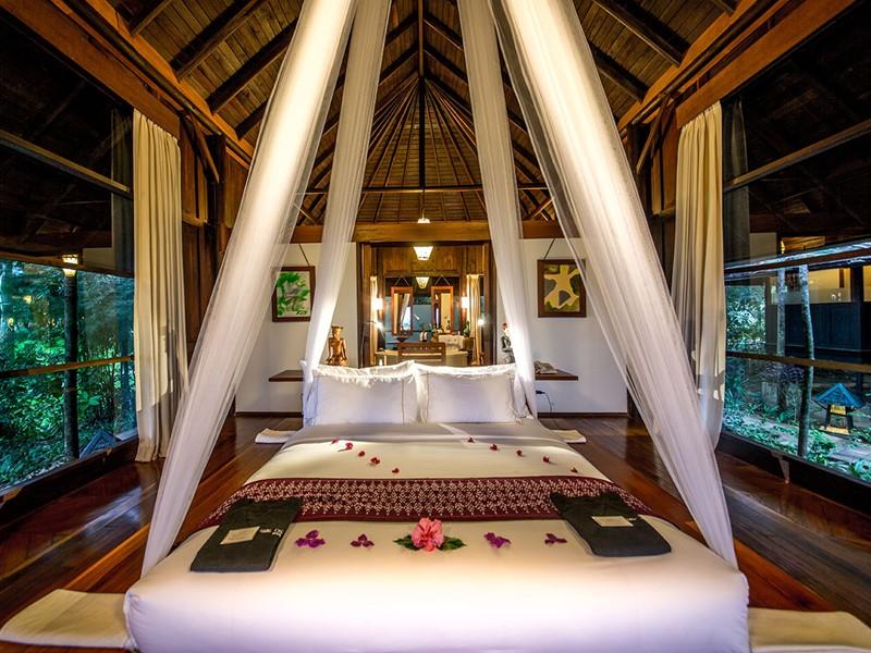 L'intérieure de la villa de l'hôtel