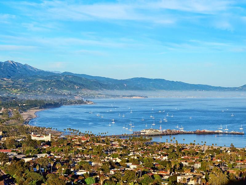 La côte de Santa Barbara