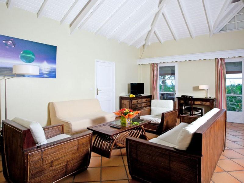 Suite de l'hôtel La Plantation à Saint-Martin