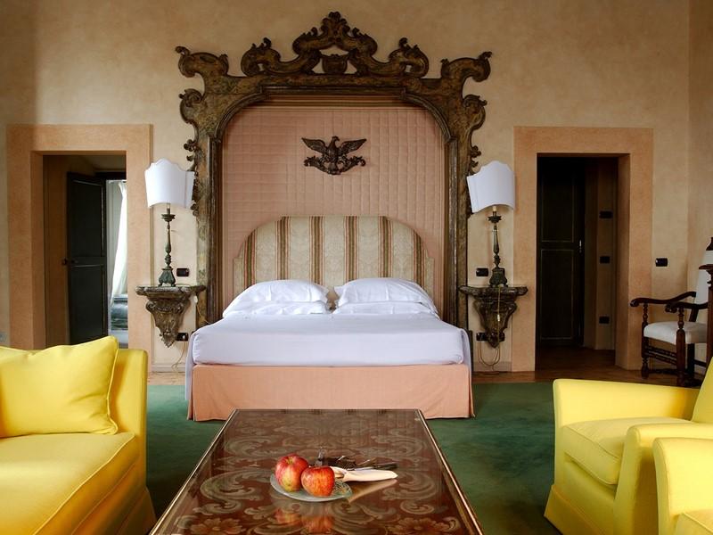 La Senior Suite de l'hôtel La Posta Vecchia à Rome