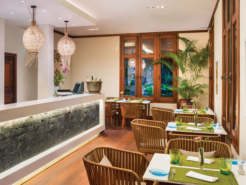 Le restaurant Ember du Belmond La Résidence d'Angkor