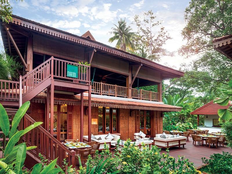 Expériences culinaires originales en pleine végétation à La Résidence d'Angkor