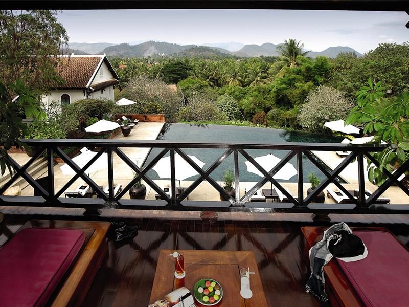 Mountain Pool View de l'hôtel La Résidence Phou Vao à Luang Prabang