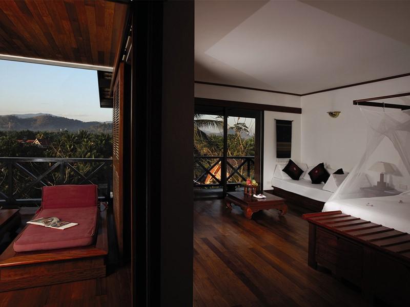 Suite Phou Vao de l'hôtel La Résidence Phou Vao à Luang Prabang