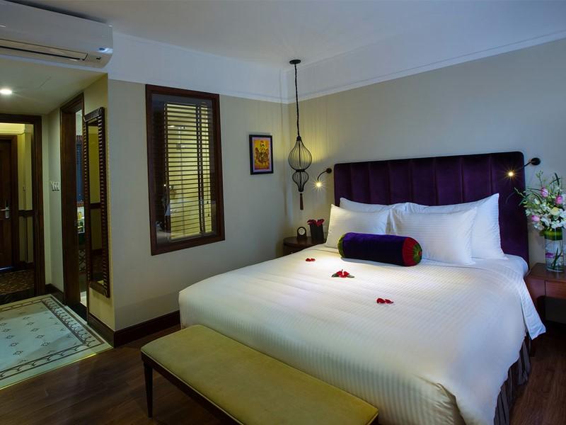 Deluxe Room de l'hôtel La Siesta à Hanoi