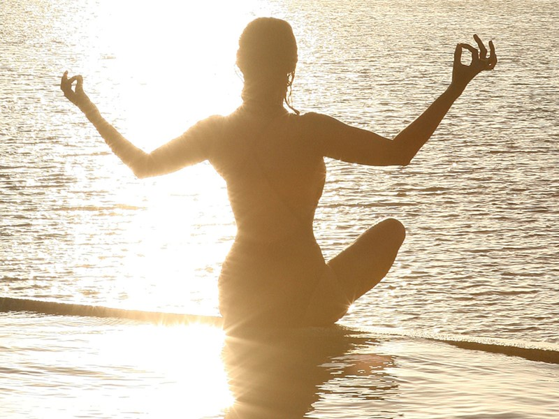 Yoga à l'hôtel La Sultana Oualidia au Maroc