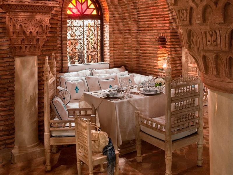 Cuisine traditionnelle marocaine au restaurant de La Sultana