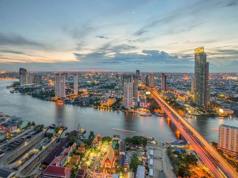Visite de Bangkok, un mélange étonnant de modernité et de tradition