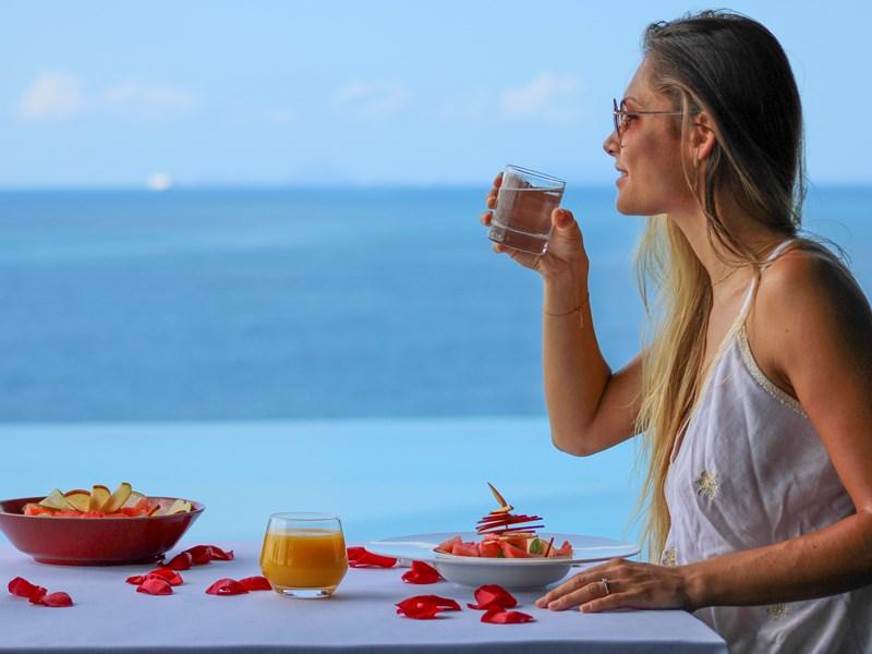Des repas délicats aux couleurs de l'île