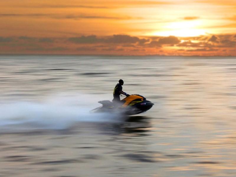 Scooter des mers de La Toubana en Guadeloupe