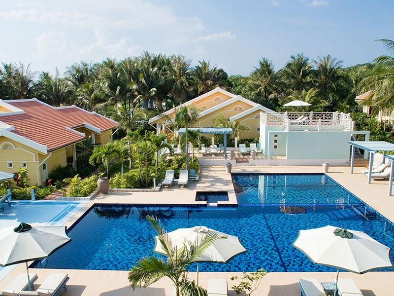 La piscine de La Véranda, la plus belle adresse de l'île