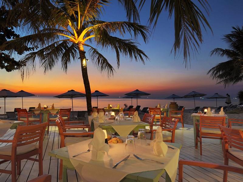 Le restaurant Le Jardin de La Véranda à Phu Quoc