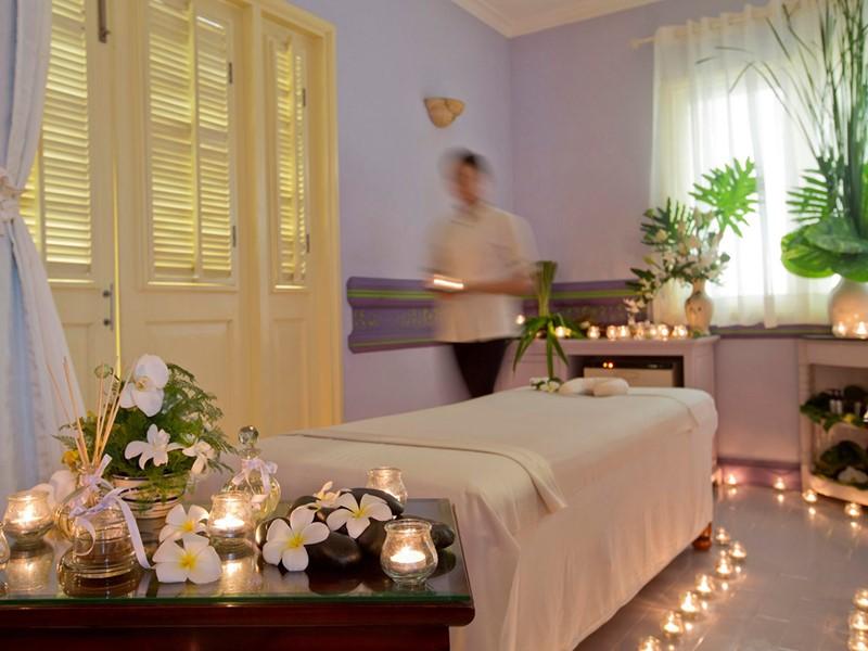 Le spa de l'hôtel 5 étoiles La Véranda au Vietnam