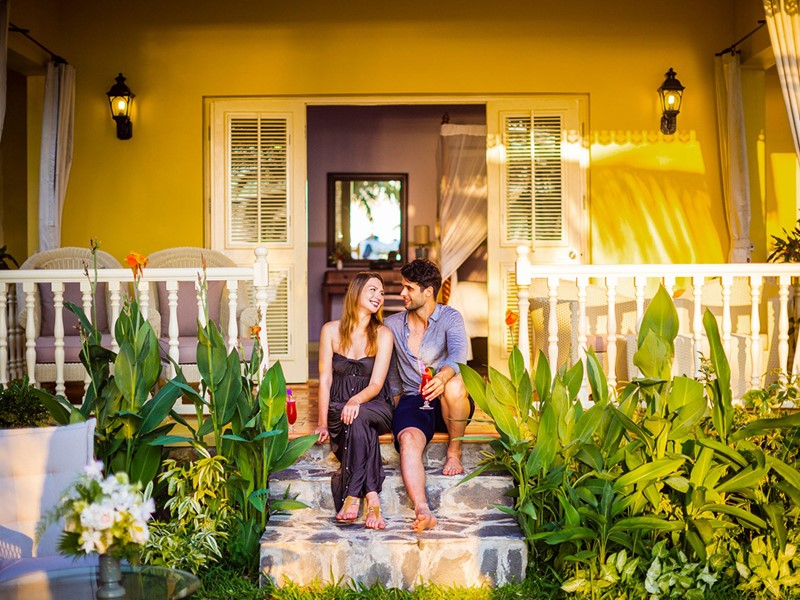 Moments privilégiés en amoureux dans votre villa de La Véranda