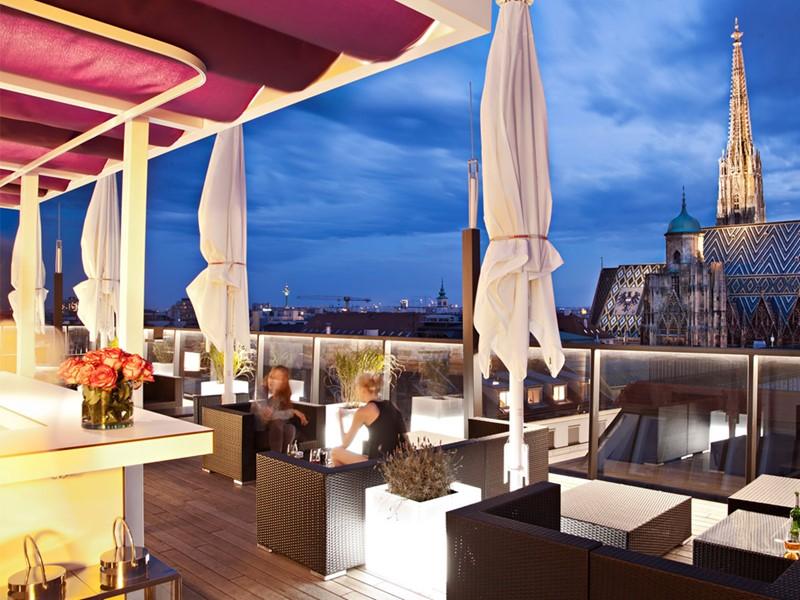 Le bar sur le toit