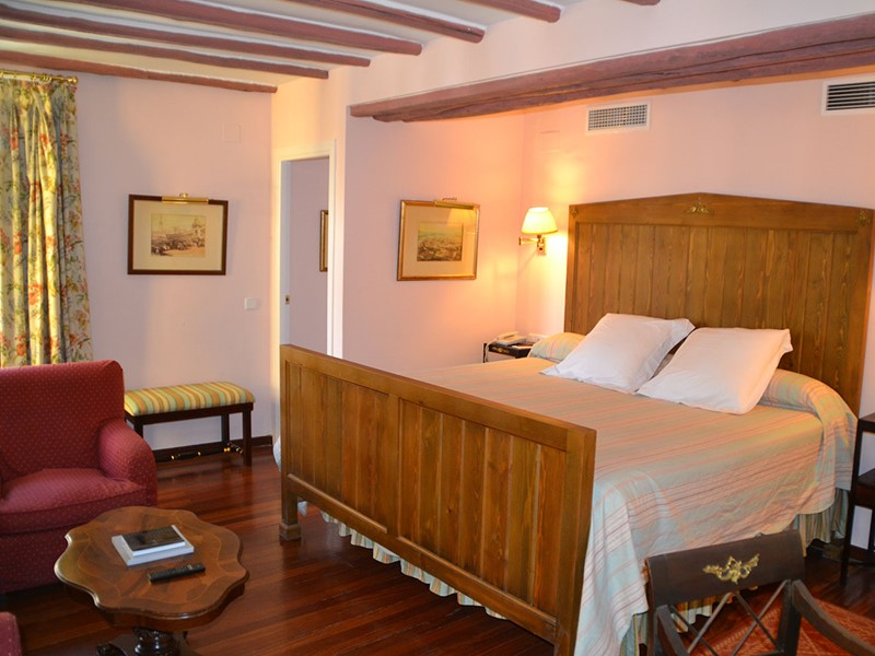La chambre Double de l'hôtel Las Casas de la Juderia situé en Espagne