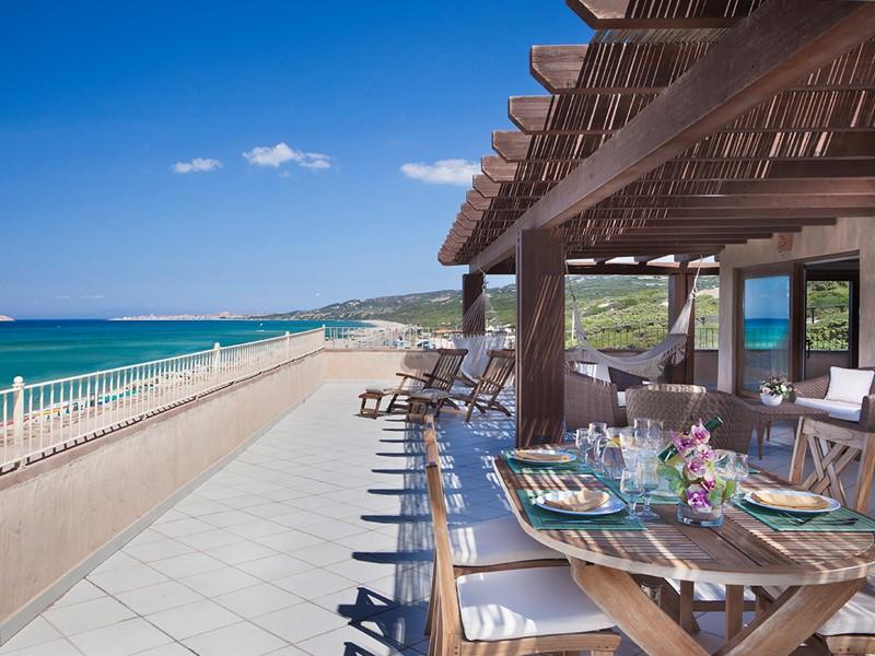 Somptueux repas face à l'océan à l'hôtel Le Dune