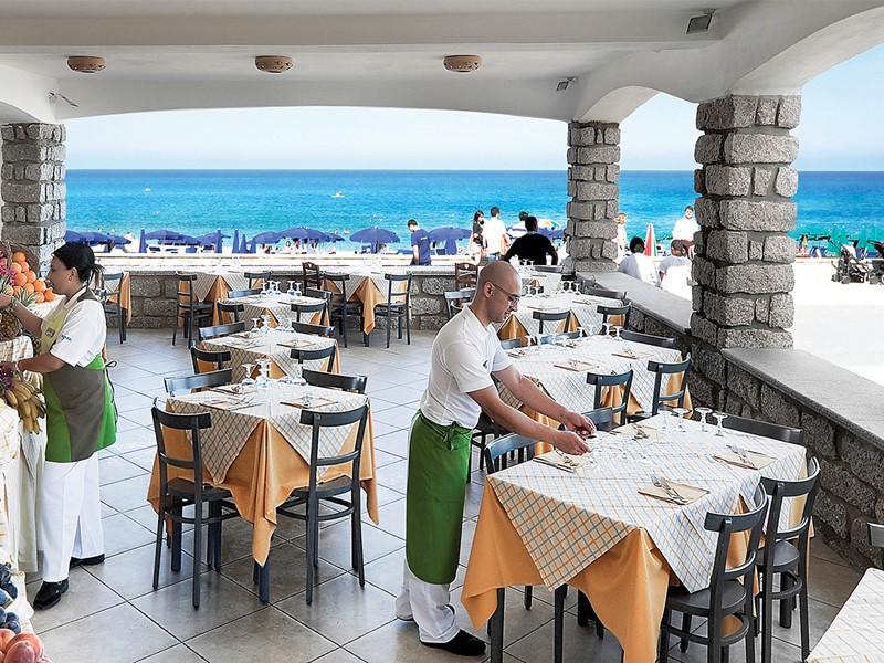 Restaurant Alla Spiaggia de l'hôtel Le Dune Resort