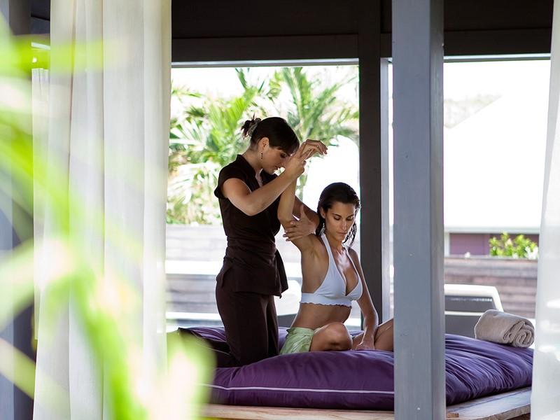Le spa de l'hôtel 5 étoiles Guanahani St Barth