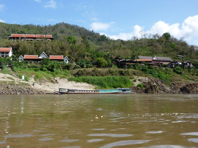 Visite du village de Pakbeng, le carrefour commercial du Laos