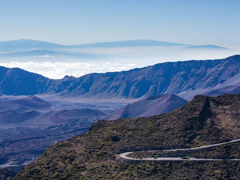 Le magnifique volcan de Maui