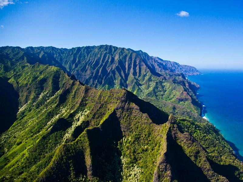 La splendide Napali Coast de Kauai