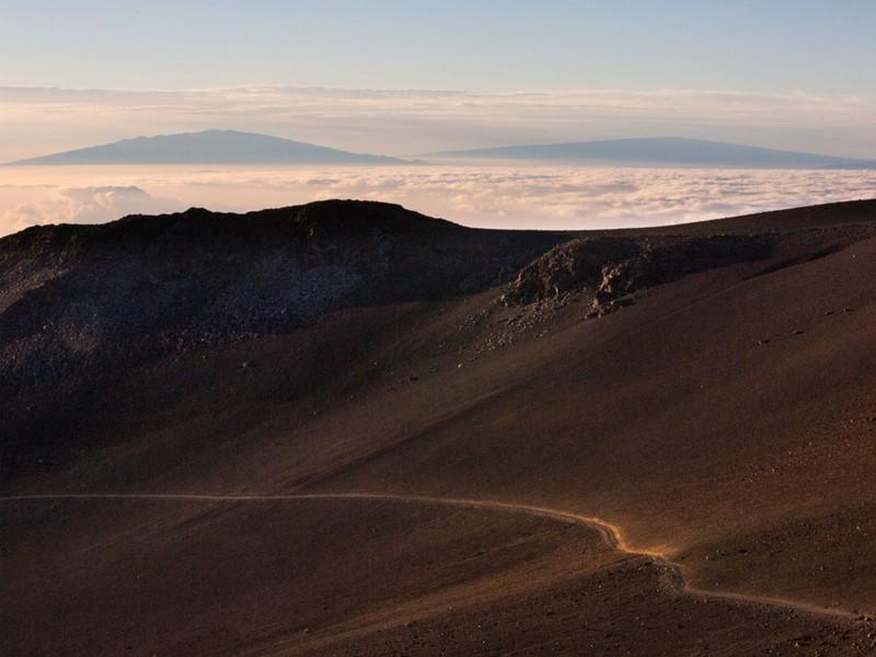 Au sommet du Mauna Kea, à Big Island