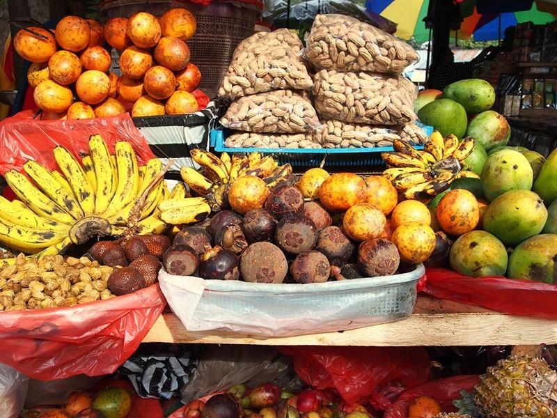 Balade au marché de Bedugul avec plein de couleurs et de saveurs