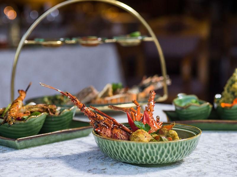 Dégustez des spécialités gastronomiques aux saveurs locales au Nusa Dua Hotel