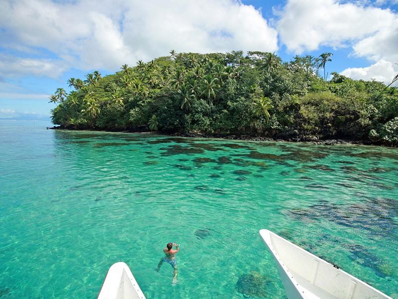 Explorez les fonds marins de Huahine