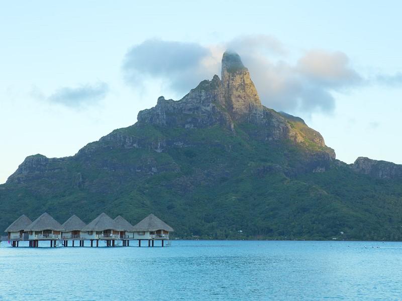 Le mont Otemanu à Bora Bora